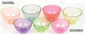 Mixing Bowl Clear Plasdent