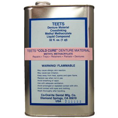 Denture Cold Cure Liquid 32oz (Co Oral Ite)