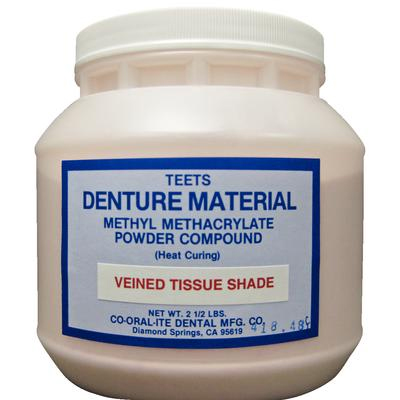 Denture Cold Cure Long Veined R6 Co-Oral