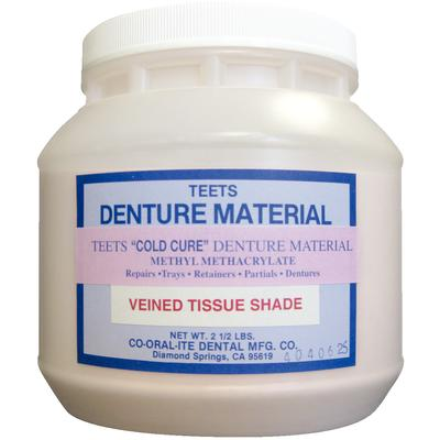 Denture Cold Cure Veined R6 Co-Oral 2.5Lb