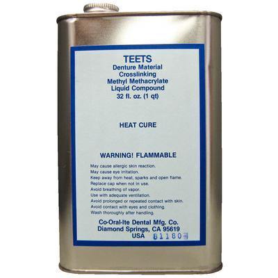 Denture Heat Cure Liquid 32oz (Co Oral Ite)